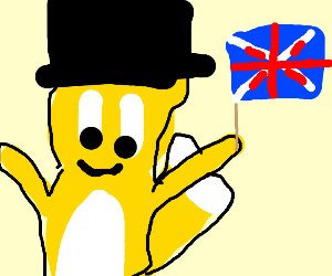 Tails loves the UK