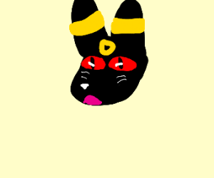 Surprised Umbreon