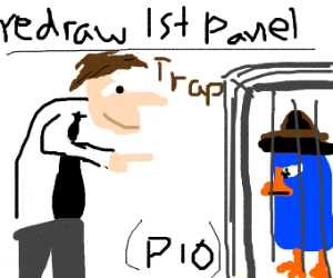Your first drawn panel PIO