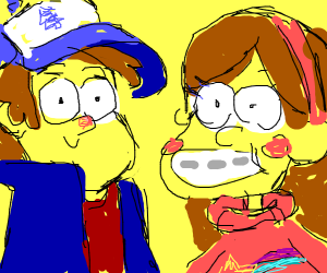 Those two kids from Gravity Falls