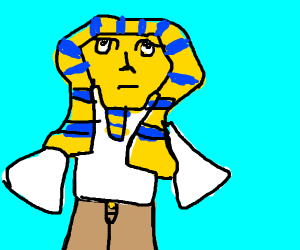 Pharaoh in khakis
