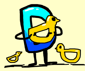 drawception d holding fat ducks