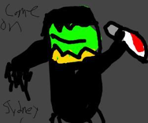 Scream, but its Kermit