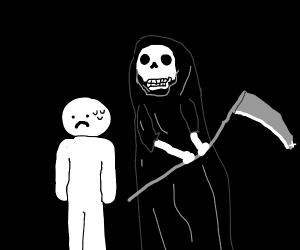 Someone near death