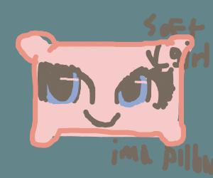 Soft girl, rosy palette