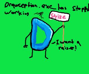 Drawception.exe has stopped responding