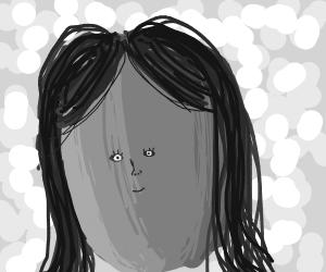 Girl With A Smol Face