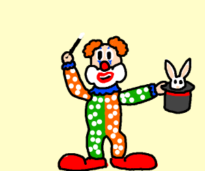 clown magician
