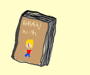 """A book with the name """"Draw With Jazza"""""""