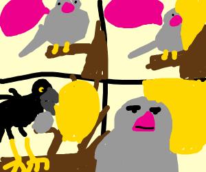Bird Meme Format