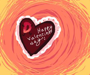 Drawception Valentine's Day Card