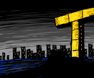 Titan tower (not from teen titans Go)