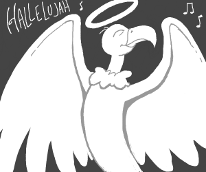 Vulture from Heaven