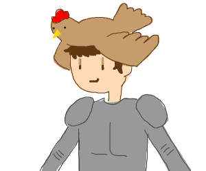 Chickenhelmet