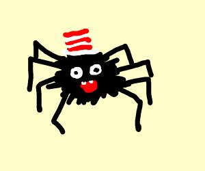 Dr. Seuss style Tarantula