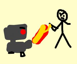 Stickman robot war