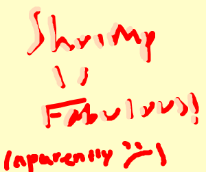 shrimp is fabulous