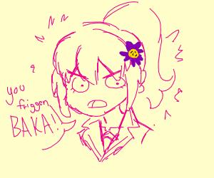 Yandere anime girl