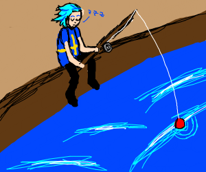 Swedish anime fisherman