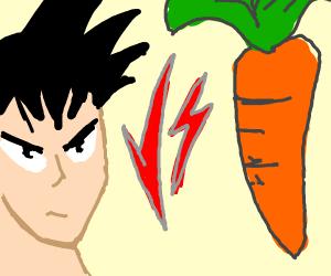 Goku vs Carrot