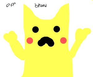 Off-brand pikachu