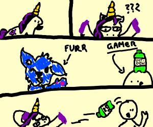 MLP furry comic parody