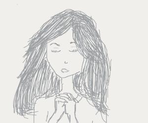Girl prayin': ''Dear god, T-series must fall'