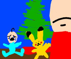 Dad got kid the wrong pokémon for Christmas