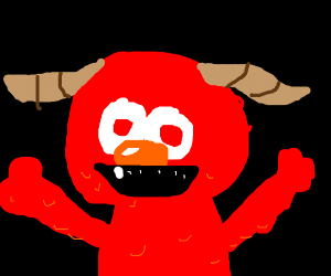 elmo satan