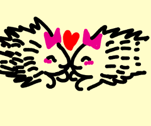 Lesbian Porcupines