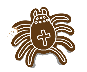 Gingerbread spider