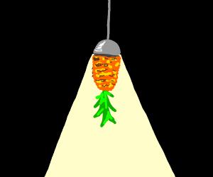 hanging pineaple light