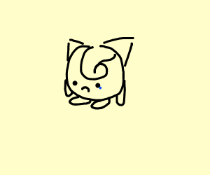 strong pokemon is sad