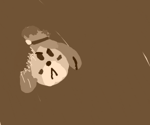 Angry Isabelle Cookie