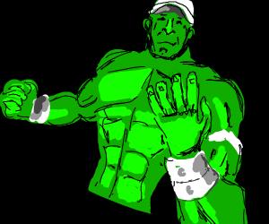 Green John Cena