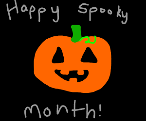 Happy spooky month!
