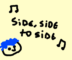 """Got that """"pickaxe"""" swinging side to side ;)"""