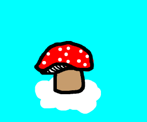 Inverted Mushroom Cloud