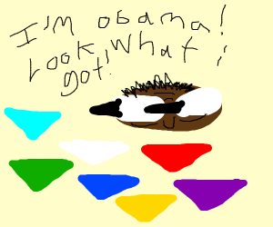 Obama has the chaos emeralds