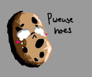 Crying potato