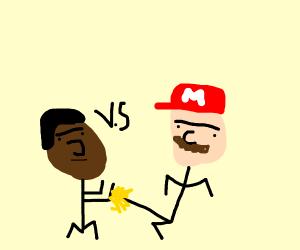 Soulja boy Vs Mario