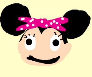 noseless minnie