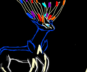 Xerneas from Pokémon X