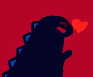 Godzilla loves you