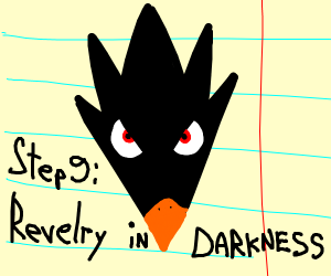 Step 8: Consume the darkness