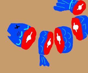 Chopped Fish
