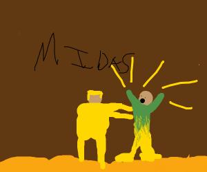 King Mida's Golden Touch
