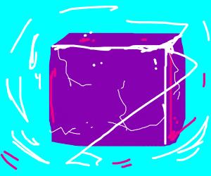 Weird Fortnite cube