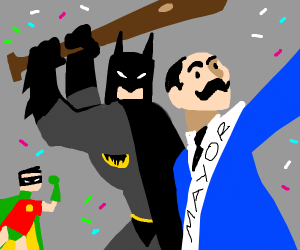 Batman celebration