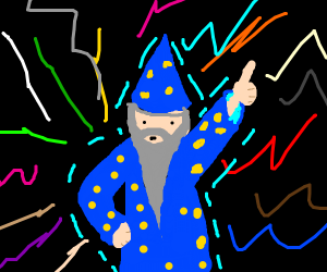 dancing wizard